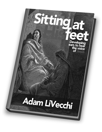 Sitting at His Feet Hard Cover