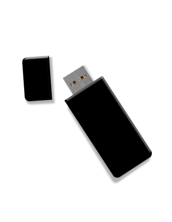 USB Stick with Materials
