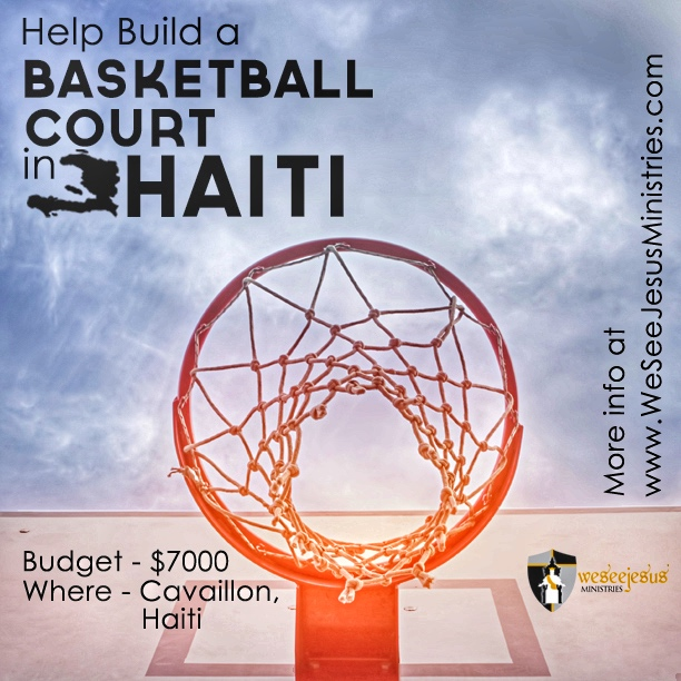 Haiti Basketball Court